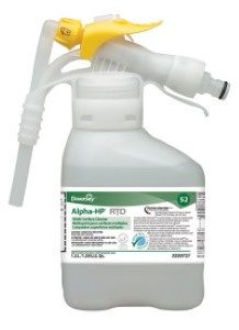 Alpha-HP® Multi-Surface Cleaner 4 x 1 gal./3.78 L Containers  2 x 50.7 oz./1.5 L RTD®  3350727